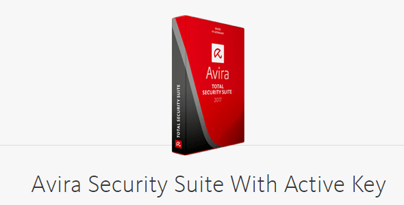 Avira Security Suite With Active Key