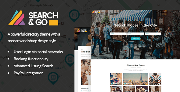 Search & Go – Modern & Smart Directory Theme