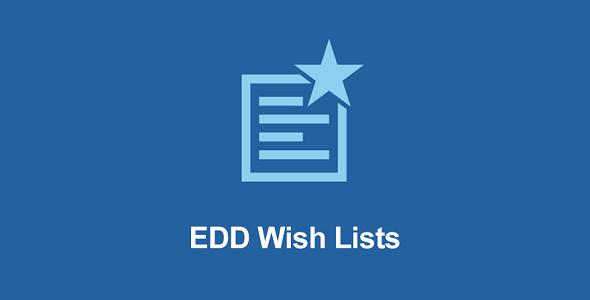 EDD Wish Lists – Easy Digital Downloads Plugin